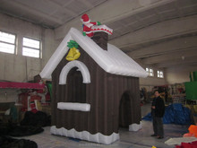 TOp 2015 Happy new year ----snowman/ inflatable santa claus/ Christmas hut MK-4