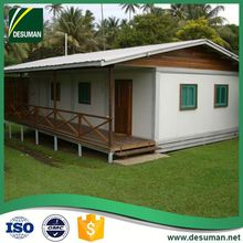 DESUMAN new fashion leisure style environment protection 20 ft and 40 ft standard size container house