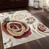 flower design Cotton rugs Hand Tufted Carpet wool for hotel