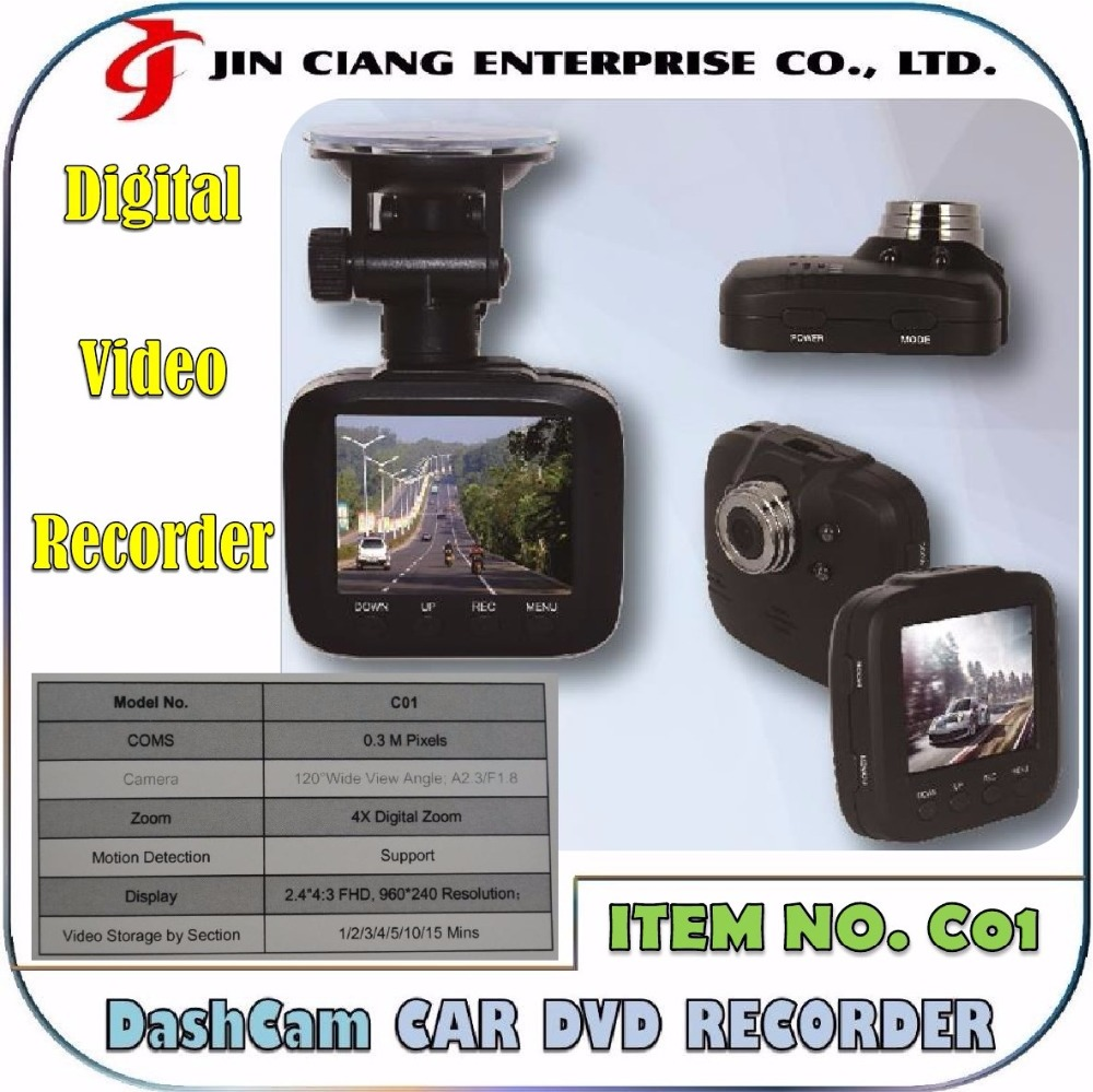 Hidden cameras NIGHT VISION Car DVR Recorder camera Video G-sensor DashCam