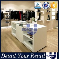 cloth display,cloth display counter,cloth shop furniture