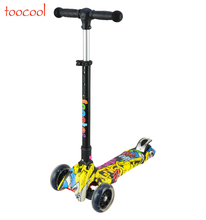 TC01 Children Mini Scooter Kick Scooter With 4 Flash PU Wheels Kids scooter