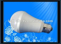 5W 6W E27 White High Power LED Light Bulb Lamp Globe Bulb AC 220V