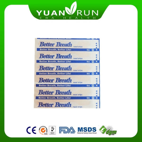 CE ISO approved nasal patch / anti snoring patch