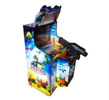 Mini Aliens shooting game machine specialize for kid, gun shooting arcade game machine