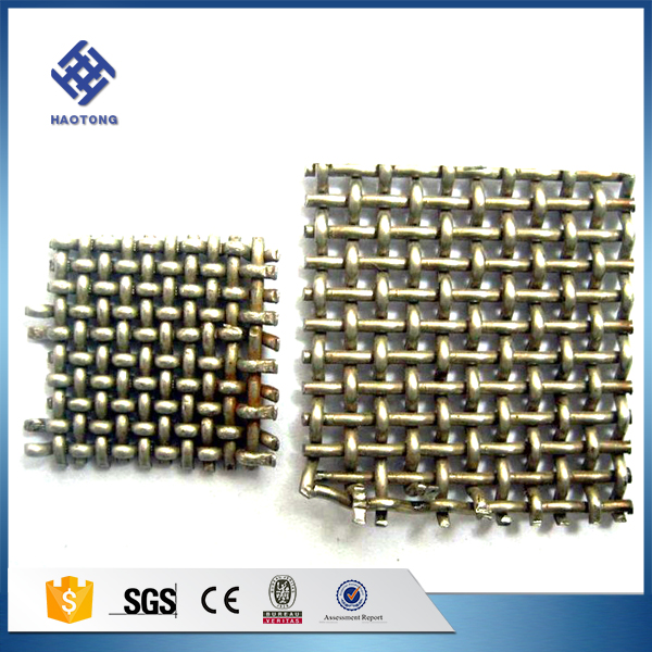 crimped wire mesh fencing