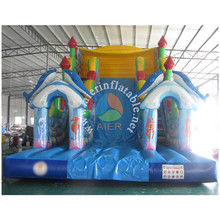 10M Full Printing Sea World Indoor Kids Inflatable Dry Air Slide,Inflatable+Slide+2017