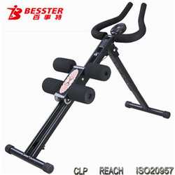 BEST JS-001 AB Trainer Slide Body gym equipment as seen on tv home gym ab exercise equipment digital counter for ab coaster