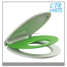 New design beautiful fancy soft close one button baby toilet seat