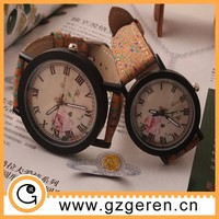 2015 Latest vintage couple lover wrist watch, vogue watch, wholesale watch cheap