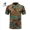 Custom Wholesale Design polyester Printing Camo Polo T shirts