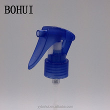 Mini trigger head plastic hand pump, mist sprayer pump