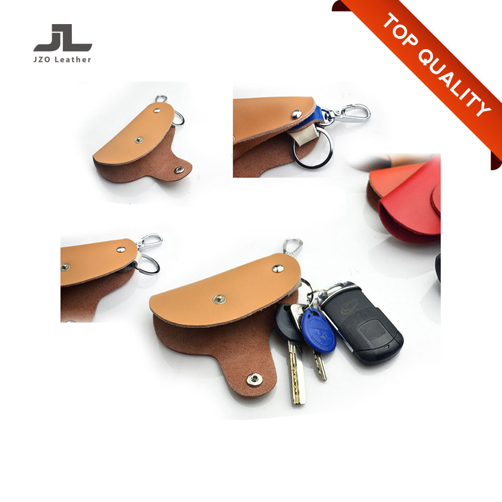 Custom New Design Compact Key Holder/Leather Key Cover/Key Chain Holder