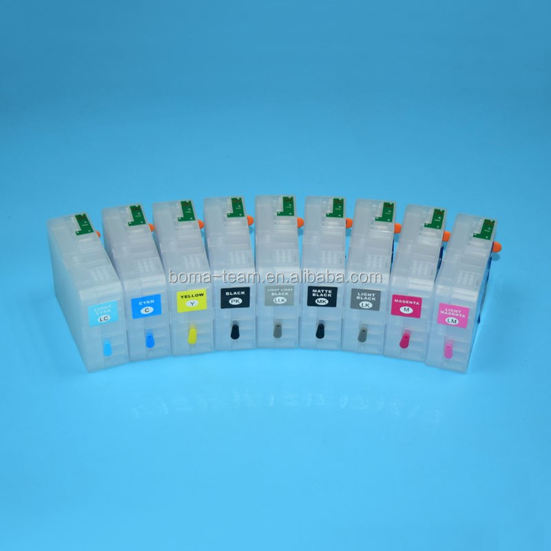 80ml Refillable ink cartridge for Epson Sure Color P800 printer