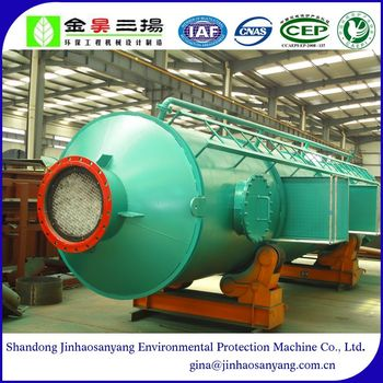 STD type ammonia nitrogen stripping and absorbing tower for waste water treatment