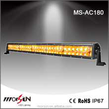 Newest!!! 180W amber led off road light bar double row fog lights 31.5 inch amber led light bars