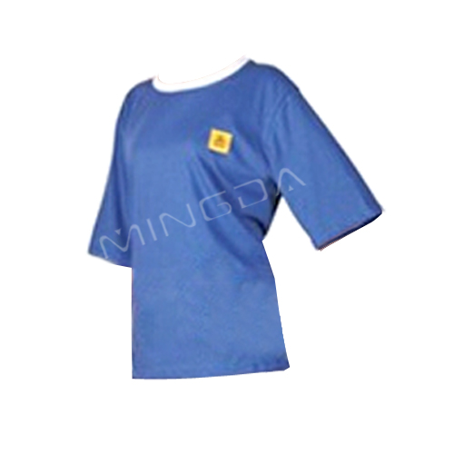 98% cotton ESD T-shirt S , M , L , XL , 2XL , 3XL available , antistatic Cleanroom suit with high quality