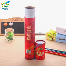Wholesale round cardboard paper poster mailing tubes, high quality paper packaging tube