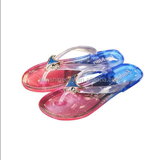 Strap Transparent PVC Sole Slipper