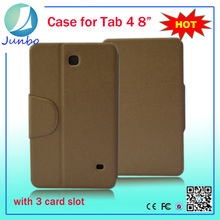 Fashionable newest leather wallet cover case for samsung galaxy note 8.0 n5100