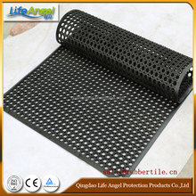 safety rubber mat for industrial place,perforated rubber mats