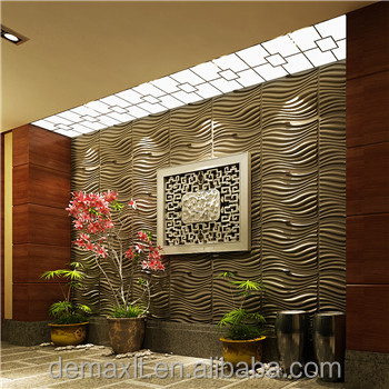 DBDMC fabric wall panel 3d board for theater