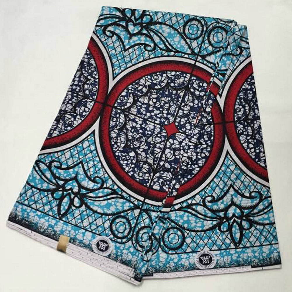 African real wax printed woven arabic fabric textile