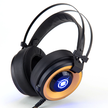 Merry Christmas Eve Special supply Wired gaming headphone with mic For Laptop PC/Mac/PS4/iPad/iPod/Phones
