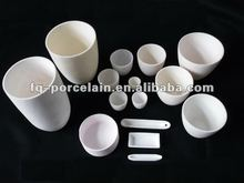 boat shaped ceramic bowls for laboratory test 99-99.7% Ceramic crucibles