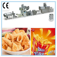 Shell Crispy Pea fried snack pellets making machine production line