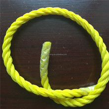 3 Strand PP Packing Used Polypropylene Braided Ropes
