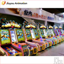 slot game machine for kids to play bowling and exchange for gith with high score simulator bowling game machine