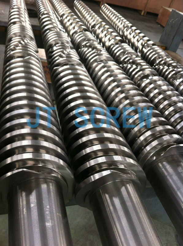 Kross Maffia/KMD conical twin screw and barrel for PVC plastic & rubber machinery parts