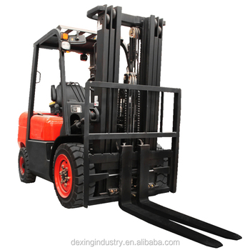 China Brand New Diesel Forklift 2500 kgs, 4300 mm Container Spec Triple Mast and Shifter