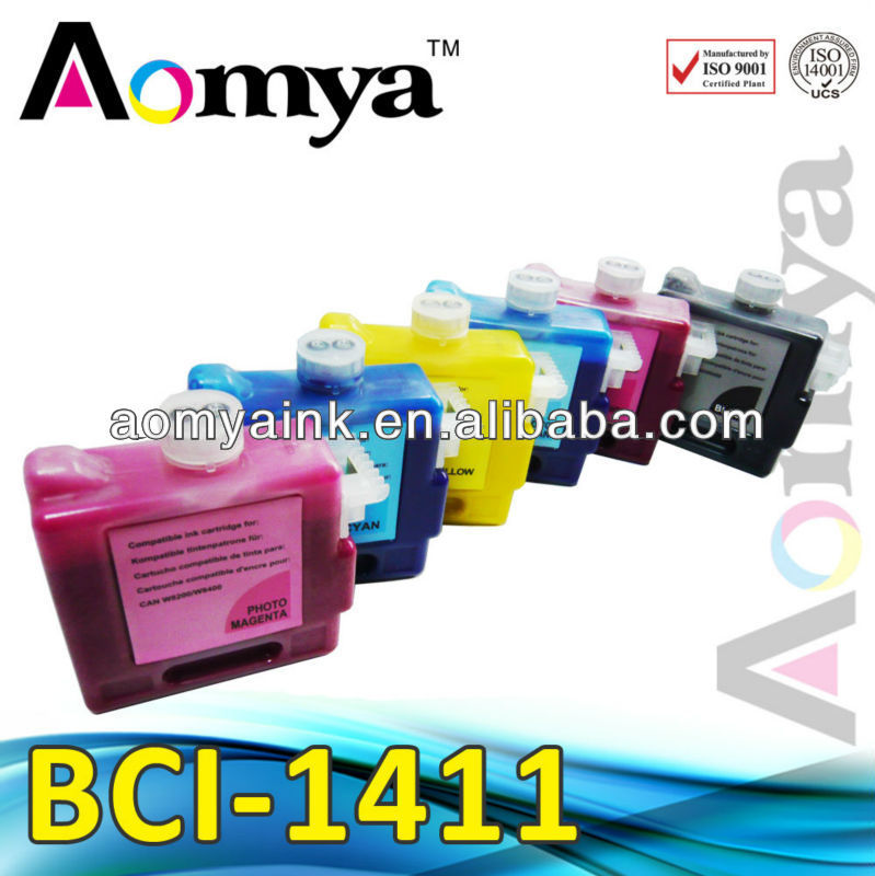 Factory direct sales !!compatible ink cartridges BCI 1411 for canon Printer For Canon Ipf W8400/W8200/W7200
