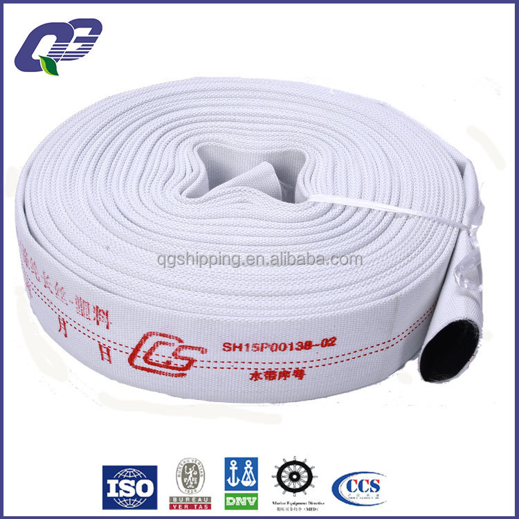 Marine Wholesale Price Polyester Layflat Fire Hose with double jacket