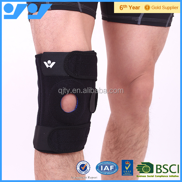 Top quality knee support with open patella on discount