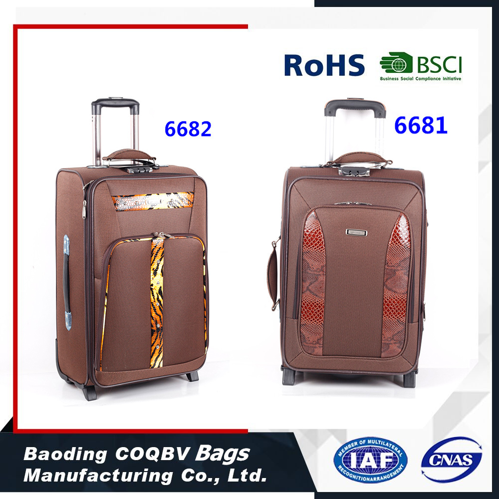 Hardshell EVA Trolley Case/Polycarbonate korea and japan trolley luggage