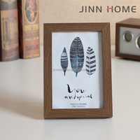 leaf picture wooden photo frame 2017 Hot sale 6-7-8-10 inch
