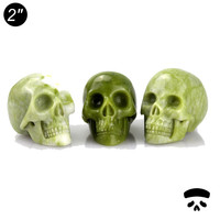 "Hot wholesale small 2"" inch carved skull gifts craft,wholesale hand carved halloween craft gifts supplies"