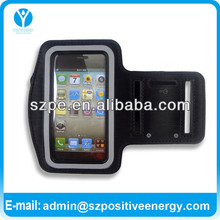 PREMIUM Black RUNNING SPORTS GYM ARMBAND CASE COVER for iPhone 5 5G