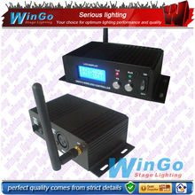 stage lighting LCD wirelessdmx transmitter&receiver machine
