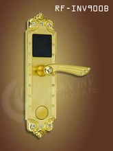 Smart card electroic lock for hotel door lock , keyless entry door knob , Zinc alloy door lock ,