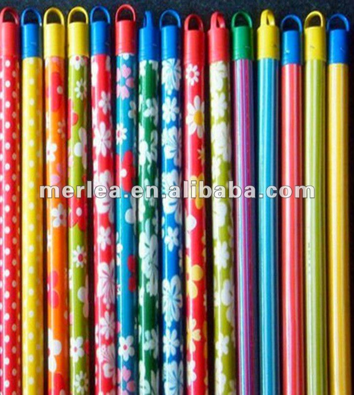 GREAT QUALITY colorful broom handle, wooden broom stick/handles, mop handle with EXCELLENT WORKMANSHIP
