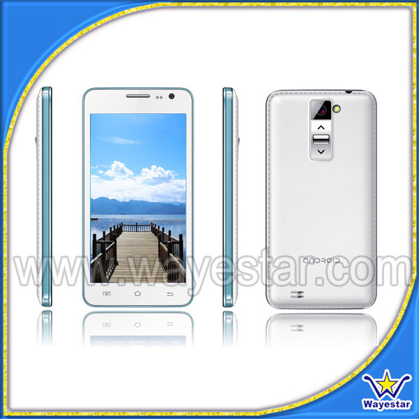 Custom Android cell phone 5 inch 3G Dual Core 1.3ghz MT6572