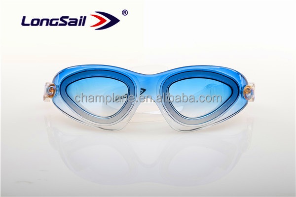 Professional Adult Anti-Fog Waterproof UV Silicone Swimming Goggles