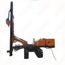 380V excavator mounted drilling rig