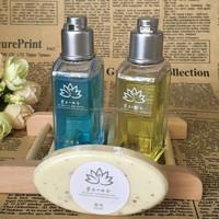 cheap wholesale simple hotel soap bath set/bath accessories/bathroom amenities