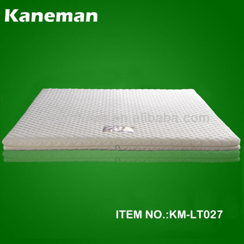 100 Natural Healthy Single Size Thin Latex Mattress Pad