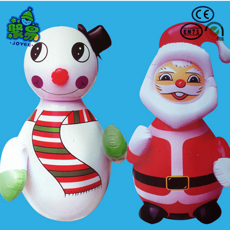 Wholesale PVC advrtising inflatable christmas old man for sale